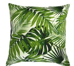 Lackey Botanic Palm Leave Indoor/Outdoor Pillow Product Type: Pillow Cover