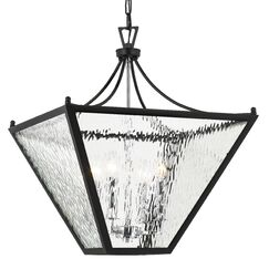 Gessner 4-Light Lantern Pendant Size: 25