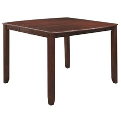 Gutshall Counter Height Extendable Solid Wood Dining Table