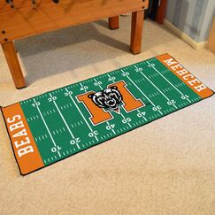Collegiate US Military Academy Area Rug NCAA Team: Mercer University