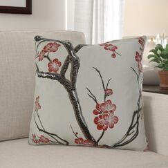 Krauthamer Cherry Blossom Luxury Pillow Size: 20