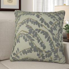 Dennett Olive Branch Pillow Size: 20
