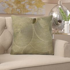 Jorgenson Muted Pewter Stardust Luxury Pillow Fill Material: H-allrgnc Polyfill, Size: 20