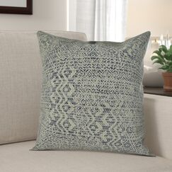 Bettsville Zig Zag Pillow Fill Material: 95/5 Feather/Down, Size: 16