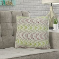 Mcmartin Wavy Swirl Pillow Fill Material: 95/5 Feather/Down, Size: 20