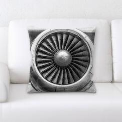 Miah Airplane Jet 2 Throw Pillow