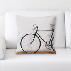 Dutton BikeThrow Pillow