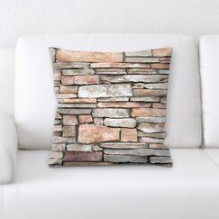 Bricks (5) Throw Pillow