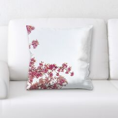 Close up Spring Flowers (8) Throw Pillow