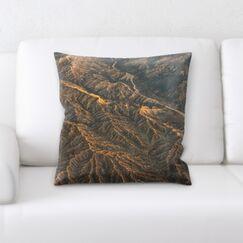 Seaview Mountain and Cliffs (101) Throw Pillow