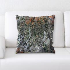 Land (2) Throw Pillow