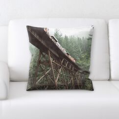 Train Experience (3) Throw Pillow