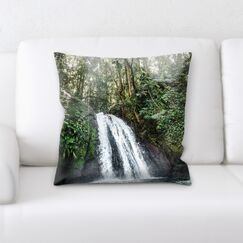 Waterfall (48) Throw Pillow