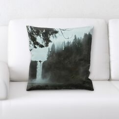 Waterfall (148) Throw Pillow