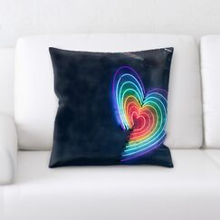 Waithman Neon (161) Throw Pillow