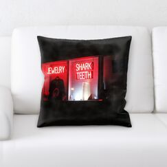 Waithman Neon (253) Throw Pillow