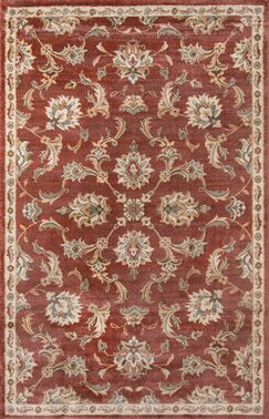 Rouseville Rust Area Rug Rug Size: Rectangle 3'3