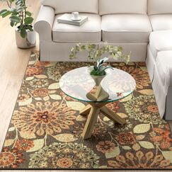Fedna Dream Spice Tan/Orange Area Rug Rug Size: Rectangle 5' x 9'
