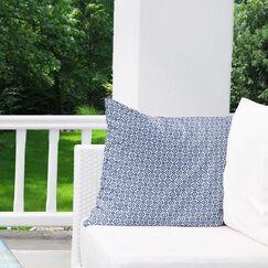 Wilfred Indoor/Outdoor Throw Pillow Size: 26