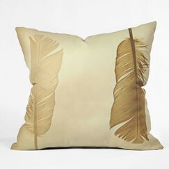 Shannon Clark Side by Side Indoor/Outdoor Throw Pillow Size: 18