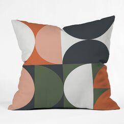 The Old Art Studio Mid Century Indoor/Outdoor Throw Pillow Size: 16