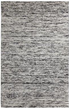 One-of-a-Kind Beach Hand-Woven Grey Area Rug