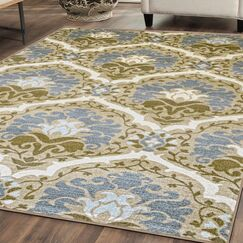 Connor Printed Non-Slip Taupe Area Rug Rug Size: Rectangle 5' x 8'