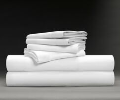 Wesley Luxe Soft & Smooth 600 Thread Count Sheet Set Size: Callifornia King, Color: White