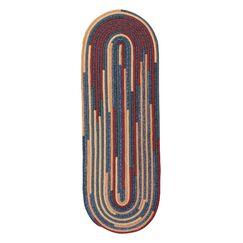Aydan Kitchen Summer Hand-Braided Red/Yellow Area Rug Rug Size: Runner 2'6