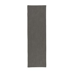 Brooklynn All-Purpose Mudroom Hand-Braided Harbor Gray Area Rug Rug Size: Runner 2' x 11'