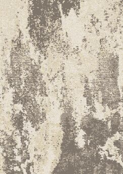Harry Distressed Bark Cream/Gray Area Rug Rug Size: Rectangle 5'3'' x 7'7''
