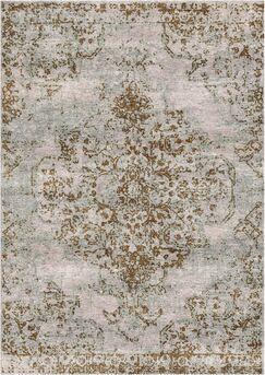 Aliza Handloom Beige/Brown Area Rug Rug Size: Rectangle 9' x 12'