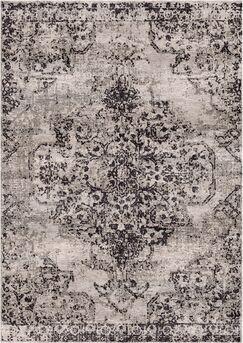 Aliza Handloom Dark Gray Area Rug Rug Size: Rectangle 4' x 6'