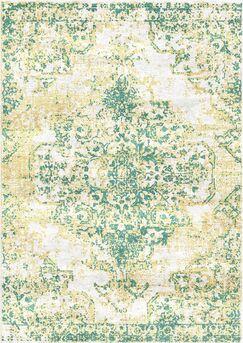 Aliza Handloom Green Area Rug Rug Size: Square 9'