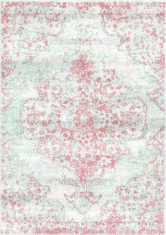 Aliza Handloom Pink Area Rug Rug Size: Rectangle 8' x 10'