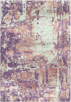 Ashford Handloom Lavender/Blue Area Rug Rug Size: Rectangle 9' x 12'