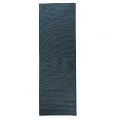 Emilee Reversible Hand-Braided Gray Indoor/Outdoor Area Rug Rug Size: Runner 2'4