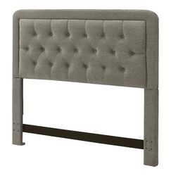 Amery Upholstered Panel Headboard Size: King, Upholstery: French Taupe
