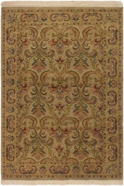 One-of-a-Kind Mcdavid Hand-Knotted Wool Gray Area Rug