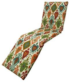 Croft Outdoor Chaise Lounge Cushion Color: Mesa