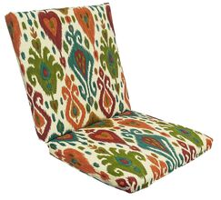 Croft Indoor/Outdoor Longue Chair Cushion Color: Mesa