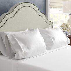 Superior 1200 Thread Count 100% Cotton Sheet Set Size: California King, Color: White
