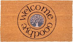 Philippa Welcome and Goodbye Non-Slip Durable Doormat
