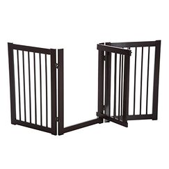 Galilee 3 Panel Safety Expandable Freestanding Pet Gate