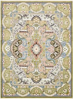 Quince Green/Blue Area Rug Rug Size: Rectangle 10' x 13'