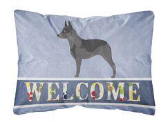 Mcclain Australian Cattle Dog Welcome Indoor/Outdoor Throw Pillow
