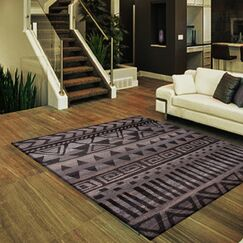 Hyde Large Dark Gray/Brown Area Rug