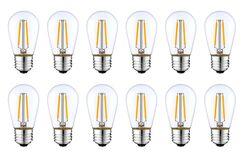 2W E26/Medium Dimmable LED Edison Light Bulb