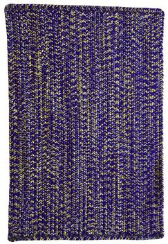 One-of-a-Kind Aukerman Hand-Braided Purple/Gold Indoor/Outdoor Area Rug Rug Size: Square 7'6