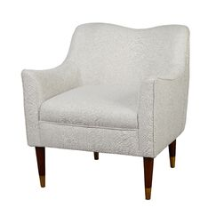 Bayview Arm Chair Upholstery: Light Gray Fabric